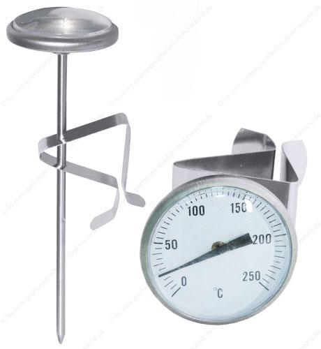 Kochtopf mit thermometer
